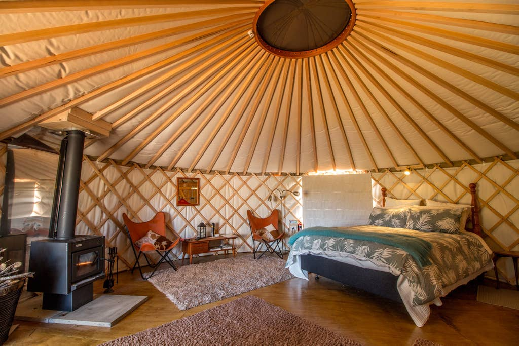Yurt Wai Rua Escapes We allow sellers to post yurts, dome houses, and other tiny home variants. yurt wai rua escapes